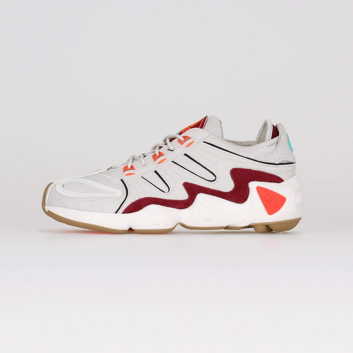 Adidas Originals FYW S-97 - Raw White / Solar Red UK 7 EE53127 4061616365255 Adidas Originals Trainers