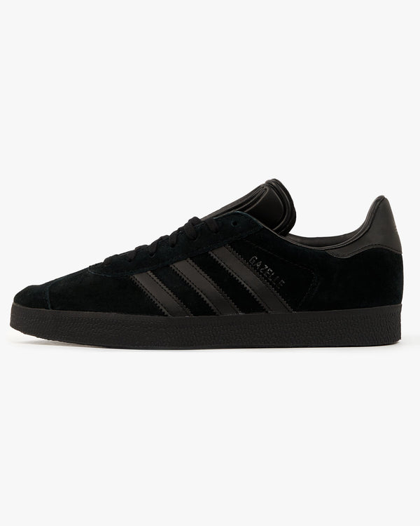 Adidas Originals Gazelle - Core Black / Core Black UK 7 CQ28097 4059322693601 Adidas Originals Trainers