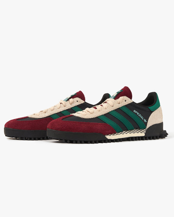 Adidas Originals Handball Spezial - Core Black / Collegiate Green / Burgundy Adidas Originals Trainers