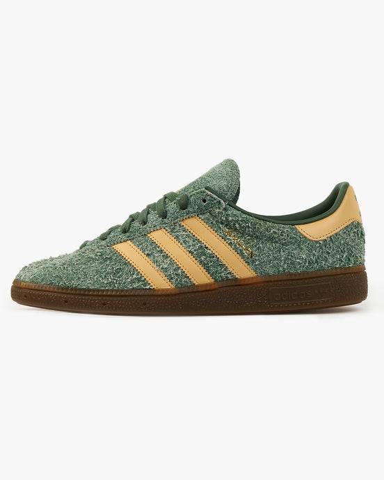 Adidas Originals München - Green Oxide / Hazy Beige UK 7 FX56357 4064037597298 Adidas Originals Trainers