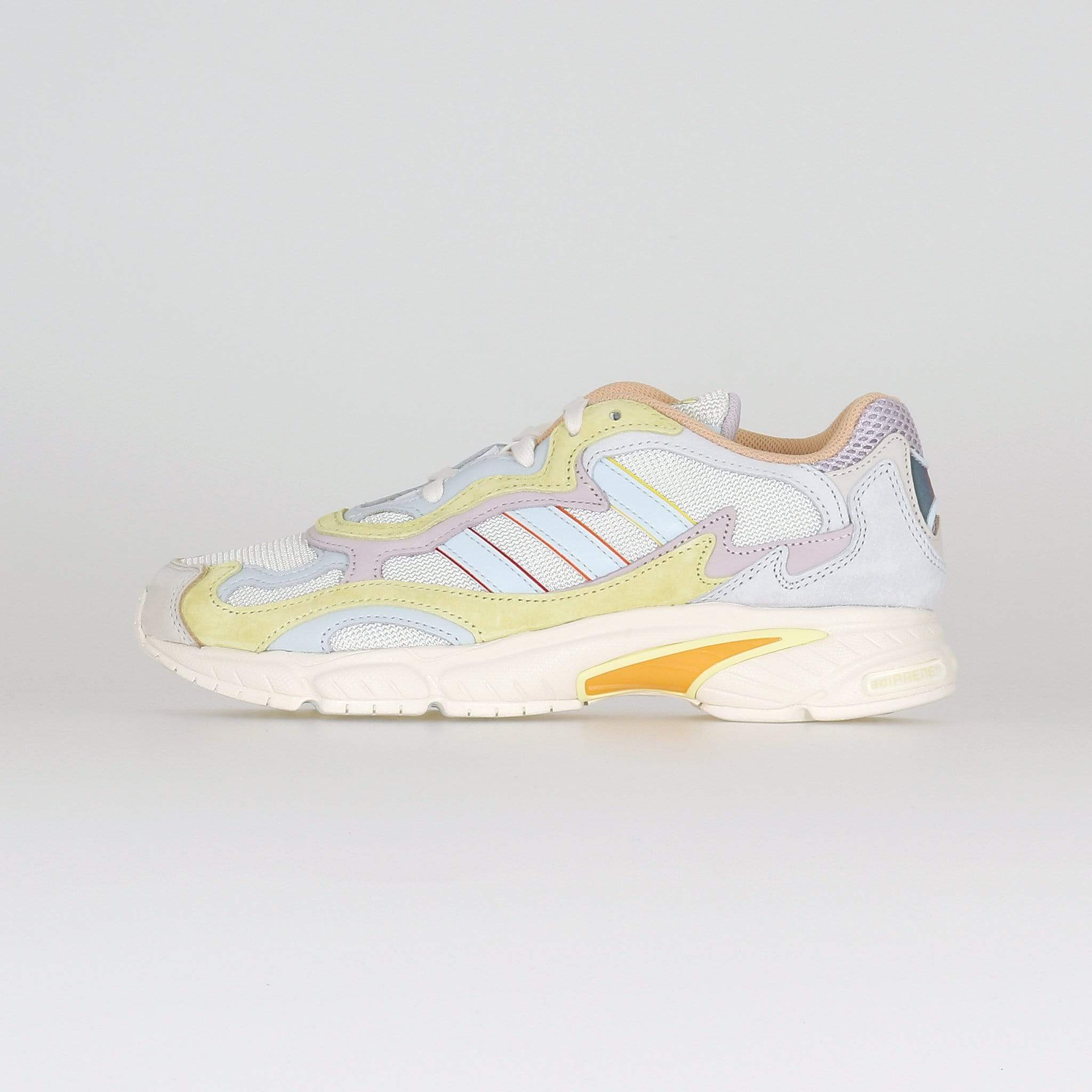 Adidas Originals Temper Run 'Pride' - Off White / Blue Tint / Ice Yellow UK 7 EG10777 4061626900460 Adidas Originals Trainers