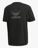 Adidas Originals Trefoil Boxy Tee - Black / White Adidas Originals T Shirts