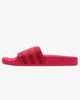 Adidas Originals Womens Adilette Slides - Power Pink / Scarlet UK 4 FV00394 4060517525331 Adidas Originals Flip Flops & Sliders
