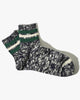 Anonymous Ism 3 Line Slub Quarter Socks - Navy L 15030800-49L Anonymous Ism Socks