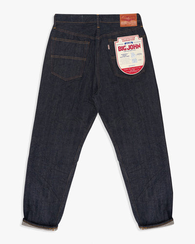 Big John Ivy Sanforized Selvedge Denim Tapered Mens Jeans Big John Jeans