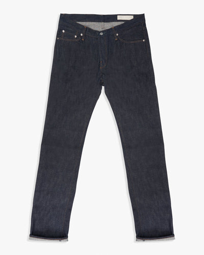 Big John RARE R009 15.5oz Unsanforized Selvedge Denim Slim Mens Jeans W32 R009-00032 Big John Jeans