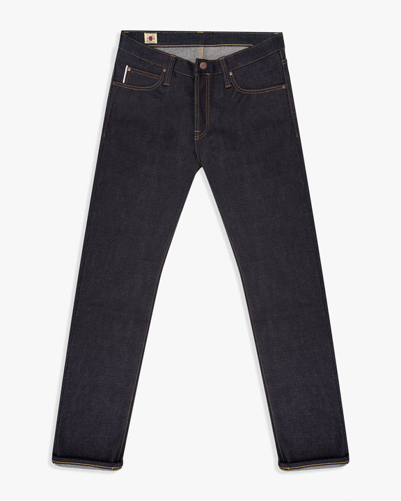 Big John Tough 23oz Sanforized Selvedge Denim Slim Tapered Mens Jeans W32 L34 M106G-000A32 4548842114470 Big John Jeans