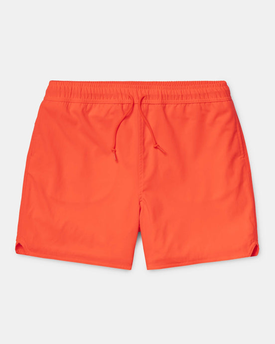 Carhartt WIP Aran Swim Trunks - Pop Coral M I02764009H0003M Carhartt WIP Shorts