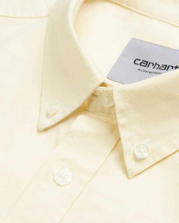 Carhartt WIP S/S Button Down Pocket Shirt - Fresco Carhartt WIP Shirts