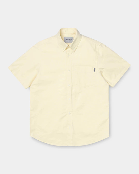 Carhartt WIP S/S Button Down Pocket Shirt - Fresco M I02749809F0003M Carhartt WIP Shirts