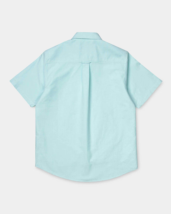 Carhartt WIP S/S Button Down Pocket Shirt - Window Carhartt WIP Shirts