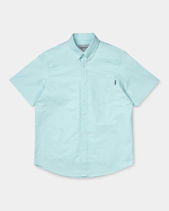 Carhartt WIP S/S Button Down Pocket Shirt - Window M I02749808K0003M Carhartt WIP Shirts