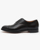 Cheaney Alfred Capped Oxford Shoe - Black Calf Leather UK 7 0500007 5056177008467 Cheaney Shoes Shoes