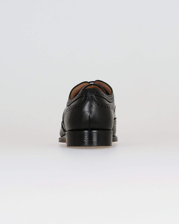 Cheaney Arthur III Oxford Brogue - Black Calf Leather Cheaney Shoes Shoes
