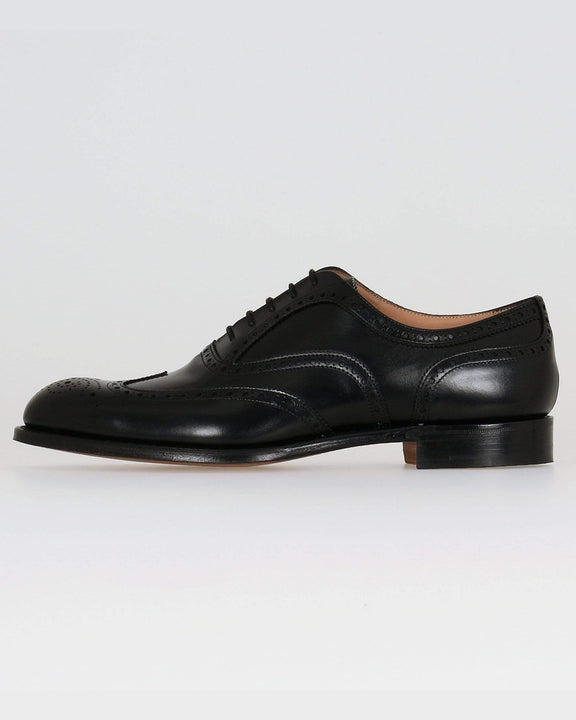 Cheaney Arthur III Oxford Brogue - Black Calf Leather UK 7 0500077 5056177006180 Cheaney Shoes Shoes