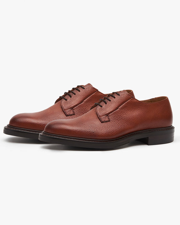Cheaney Deal II R Derby Shoe - Mahogany Grain Cheaney Shoes Shoes