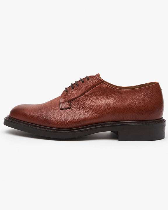 Cheaney Deal II R Derby Shoe - Mahogany Grain UK 7 1022867 5056177752483 Cheaney Shoes Shoes