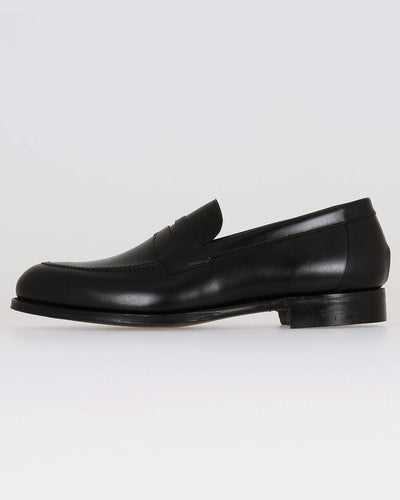 Cheaney Hadley Penny Loafer - Black Calf Leather UK 7 1005957 5056177497544 Cheaney Shoes Shoes