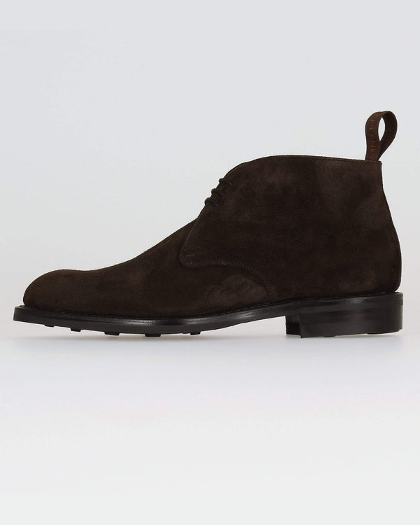 Cheaney Jackie III R Chukka Boot - Brown Pony Suede UK 7 0500577 5056177069277 Cheaney Shoes Boots