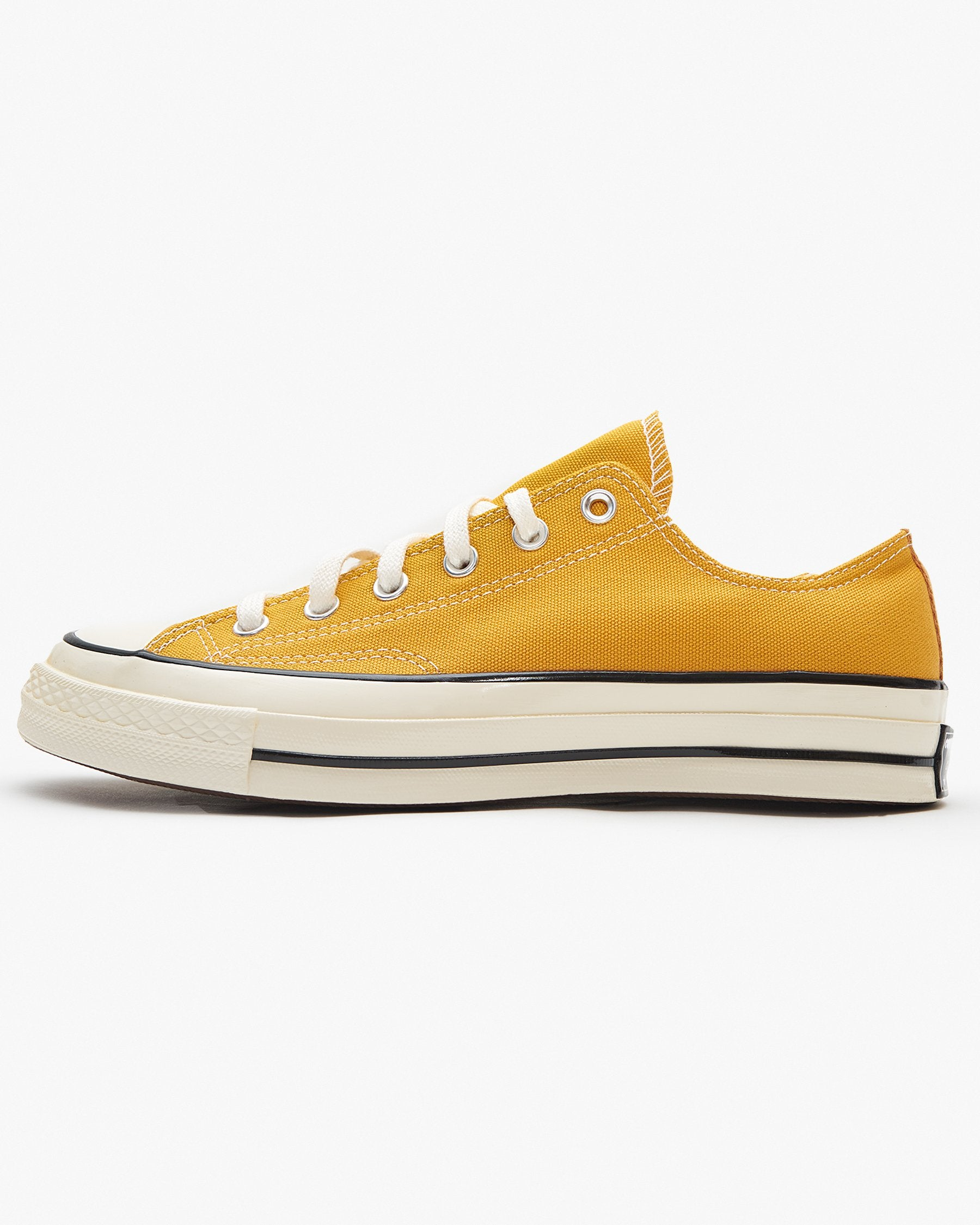 Converse Chuck 70 Low - Sunflower / Black / Egret UK 7 162063C7 888755678213 Converse Trainers