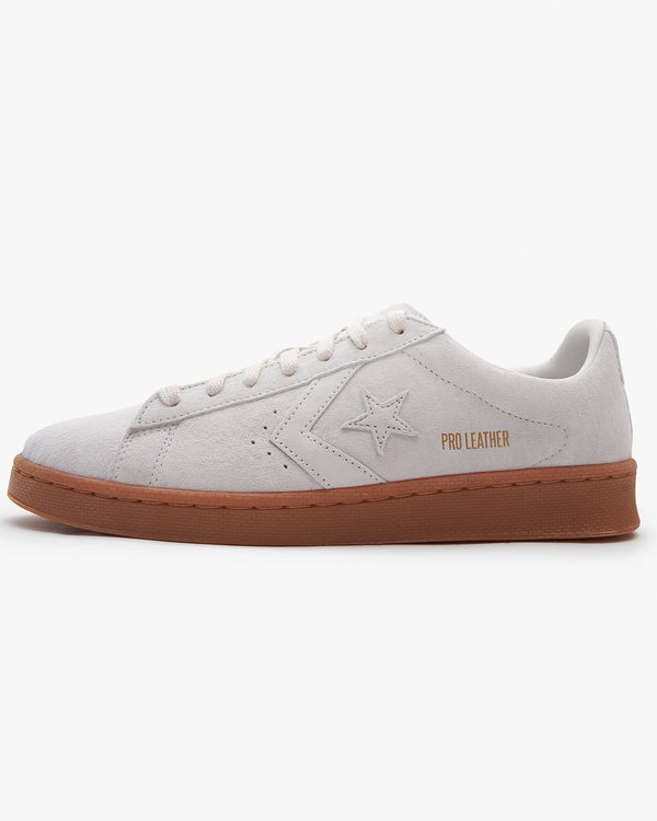 Converse Final Club Pro Leather Low - Pale Patty / Pale Putty / Gum UK 7 168598C7 194432322097 Converse Trainers