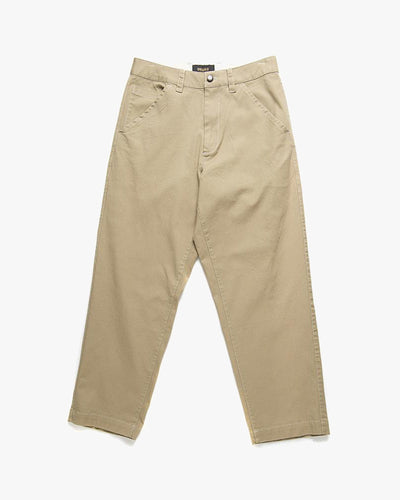 Deus Ex Machina Saxon Relaxed Fit Work Pant - Tobacco W30 L30 DMP205804-TOB30 Deus Ex Machina Chinos & Non-Denim Pants