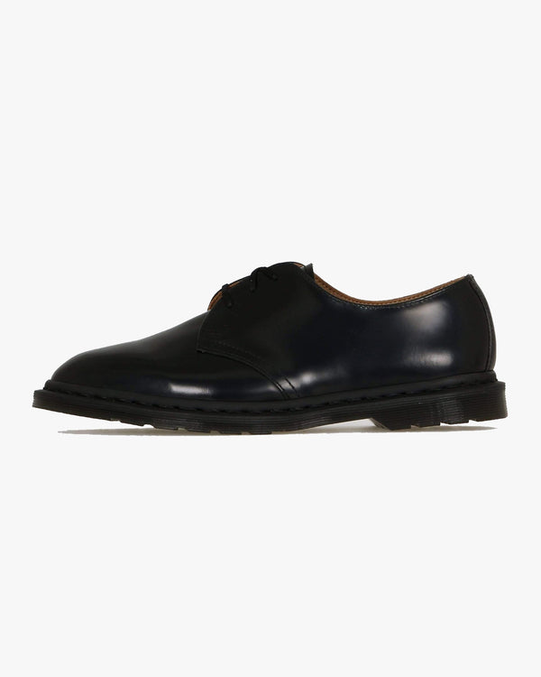 Dr Martens Archie II Shoes - Black Polished Smooth UK 7 250090017 190665259186 Dr Martens Shoes