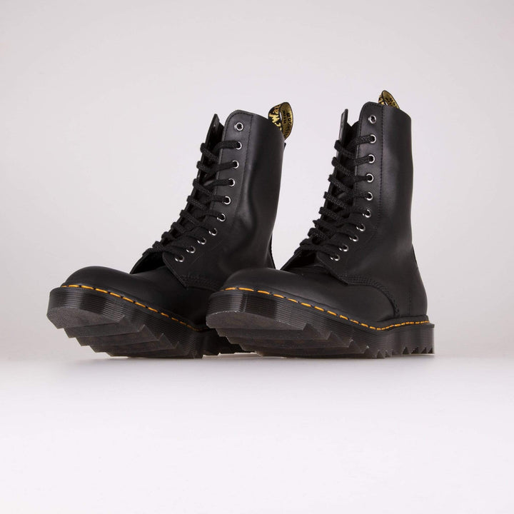Dr Martens Made In England 1490 Ripple Boots - Black Crossroads Dr Martens Boots