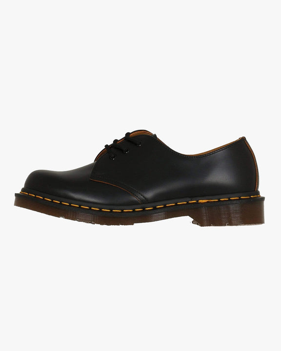 Dr Martens Made In England Vintage 1461 Shoes - Black Quilon UK 7 128770017 883985044685 Dr Martens Shoes Dr Martens Made In England Vintage 1461 Shoes - Black Quilon - Jeans and Street Fashion from Jeanstore