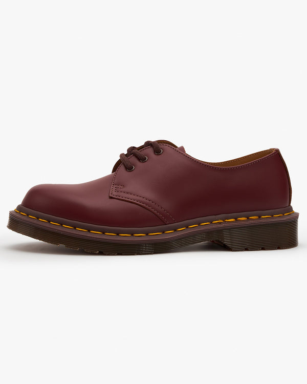 Dr Martens Made In England Vintage 1461 Shoes - Oxblood Quilon UK 4 128776014 883985044753 Dr Martens Shoes