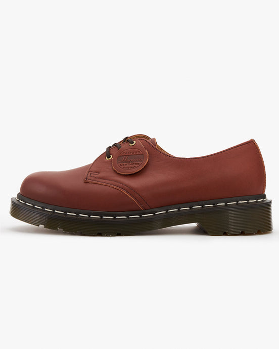 Dr Martens x Horween Leathers Made In England 1461 Shoe - Essex Veg Tan UK 7 263342207 190665355277 Dr Martens Shoes