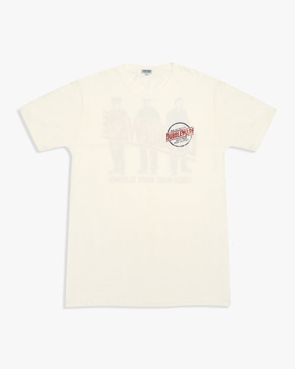 Dubbleware Work Clothes Tee - White L D-WORKCLOTHESTEE-WHITE-COTTONL Dubbleware T Shirts