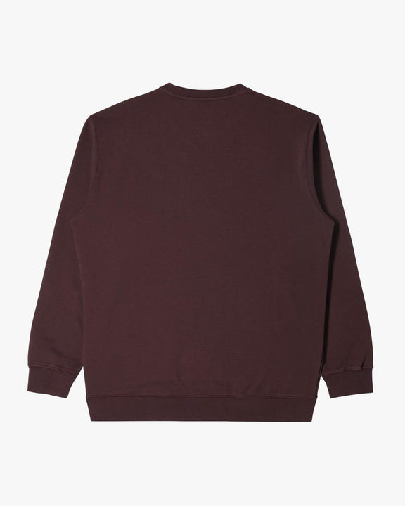 Edwin Base Crew Sweat - Heavy Felpa Puce Edwin Sweaters & Knitwear