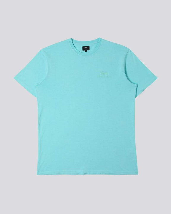 Edwin Chest Logo Tee - Angel Blue M I026690AGB6703M 4050993515162 Edwin T Shirts