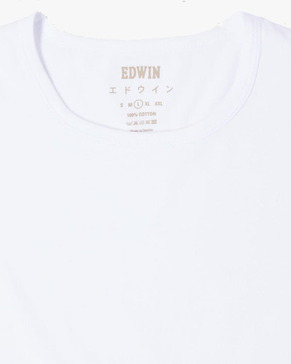 Edwin Double Pack S/S Tees - White Edwin T Shirts