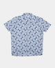 Far Afield Selleck S/S Shirt - Linen - Sun Rays 2 / M AFS274M 5060692685690 Far Afield Shirts