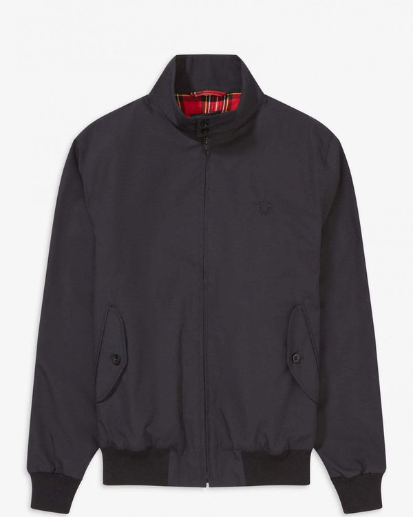 Fred Perry Made In England Harrington Jacket - Black M J7320102M 5034605561357 Fred Perry Jackets & Coats