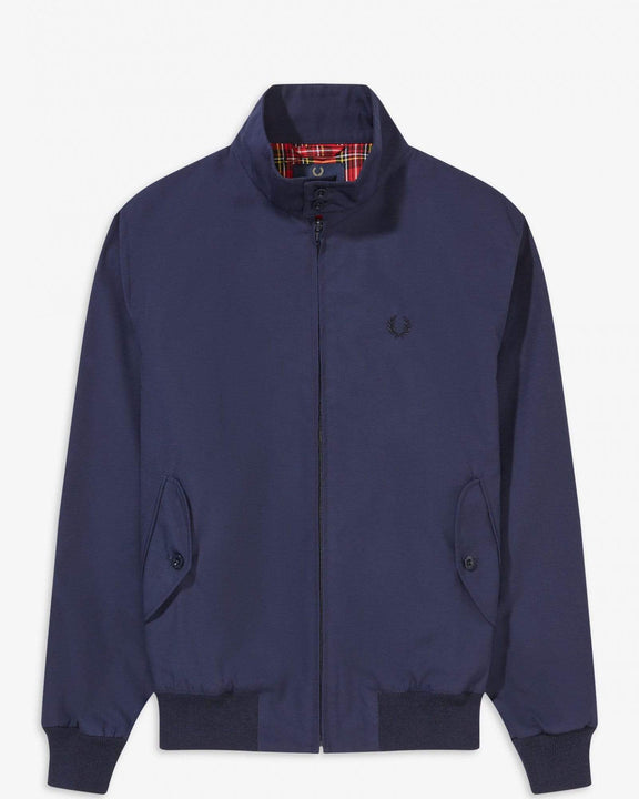 Fred Perry Made In England Harrington Jacket - Navy M J7320795M 5034605623895 Fred Perry Jackets & Coats