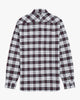 Fred Perry Tartan Oxford Shirt - White Fred Perry Shirts