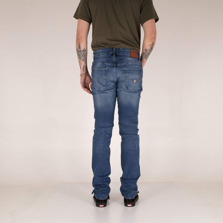 Guess Angels Skinny Fit Mens Jeans - Maitland / Mid Blue Used Guess Jeans