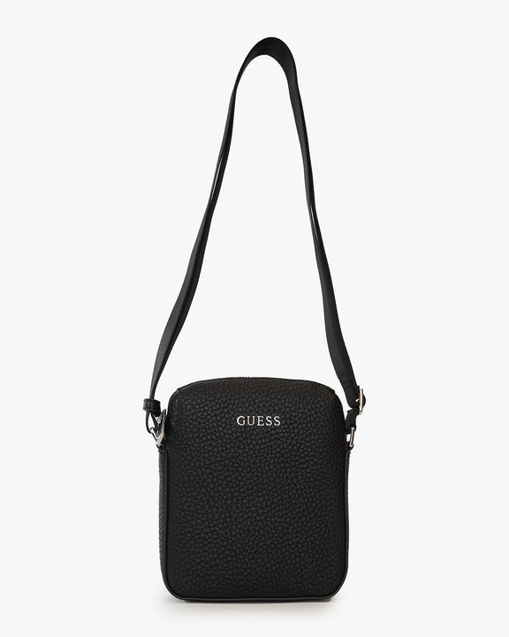 Guess Dan Mini Document Case - Black HMDANPP0217-BLA 7618584374474 Guess Bags