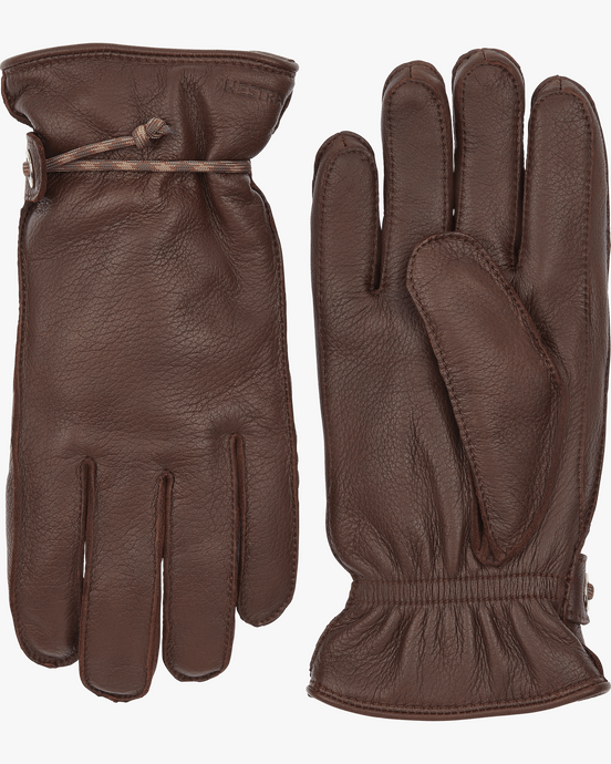 Hestra Granvik Elk Leather Gloves - Chestnut / Chestnut 7 20640-7607607 7332904015341 Hestra Gloves