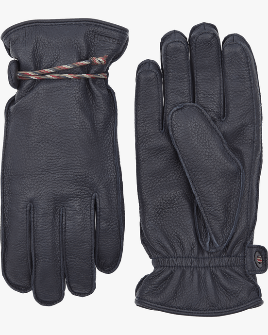 Hestra Granvik Elk Leather Gloves - Navy / Navy 7 20640-2802807 7332904018328 Hestra Gloves