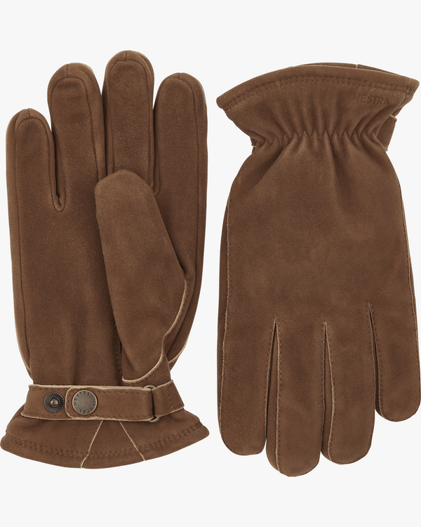 Hestra Torgil Chamois Suede Gloves - Brown 7 25830-7507 7332904070418 Hestra Gloves