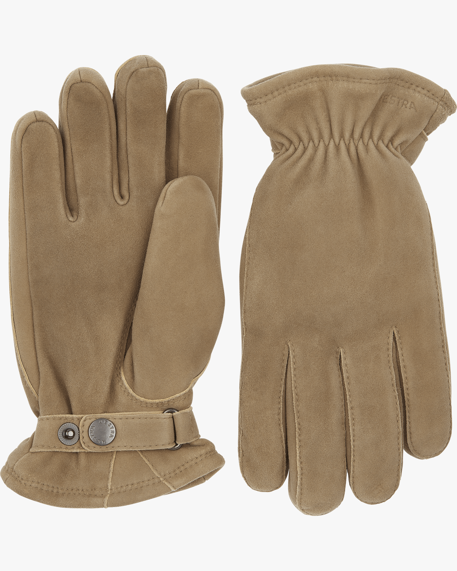 Hestra Torgil Chamois Suede Gloves - Natural Grey 7 25830-3007 7332904070319 Hestra Gloves