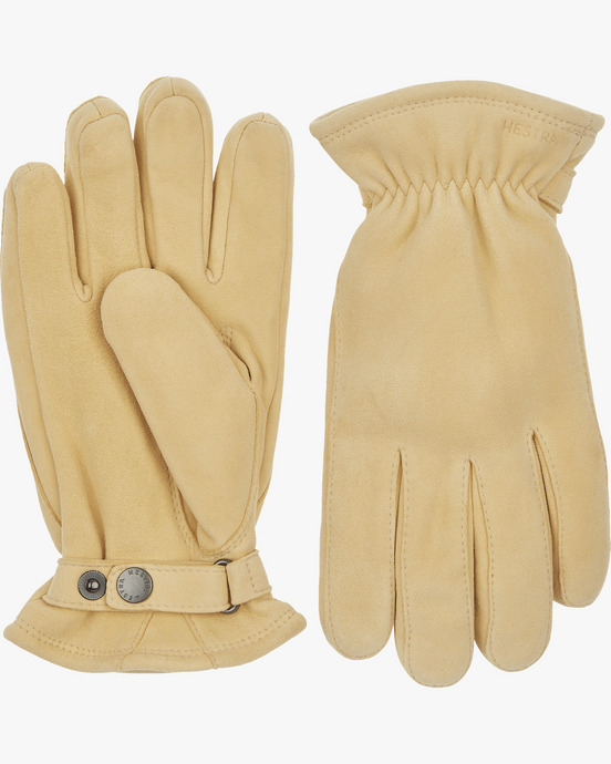 Hestra Torgil Chamois Suede Gloves - Natural Yellow 7 25830-4007 7332904070364 Hestra Gloves