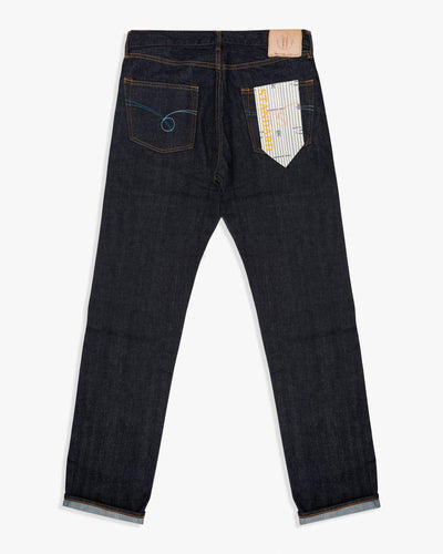 Japan Blue Standard Fit Mens Jeans - 14oz Zimbabwe x Memphis Vintage Selvedge Denim / Indigo Japan Blue Jeans