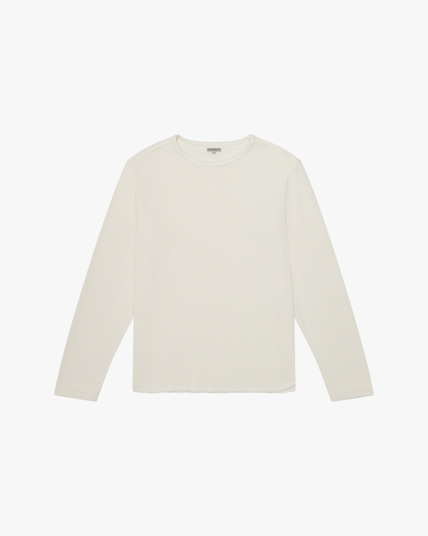 Knickerbocker Heavyweight L/S Layer Crew - Milk M HEAV01-X--MM 13513023 Knickerbocker Sweaters & Knitwear