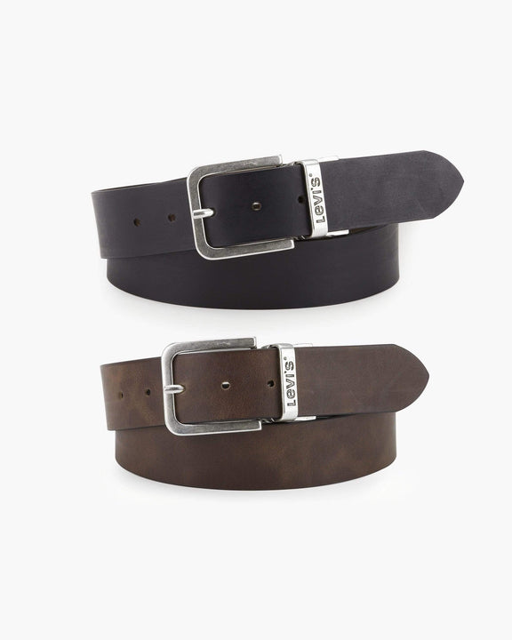 Levi's® 214826 Reversible Belt - Black / Regular Brown 100cm / 38in 214826470138 7613325729117 Levi's® Belts Levis 214826 Reversible Belt - Black / Regular Brown - Jeans and Street Fashion from Jeanstore
