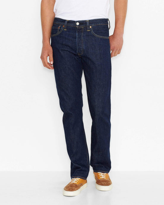 Levi's® 501 Original Regular Fit Mens Jeans - Onewash Blue W28 L32 501010128R 5412456006645 Levi's® Jeans Levis 501 Original Regular Fit Mens Jeans - Onewash Blue - Jeans and Street Fashion from Jeanstore